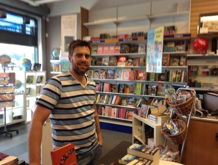 Patrik Spjuth, Värmdö bokhandel