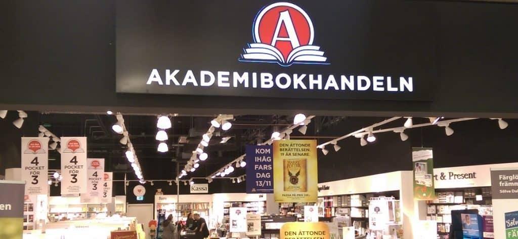 Akademibokhandeln och bokia gar samman